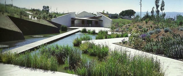 Jardim Botânico de Barcelona no bairro Montjuic