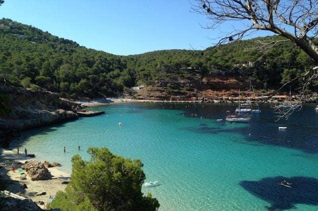 Segundo dia em Ibiza: Cala Salada