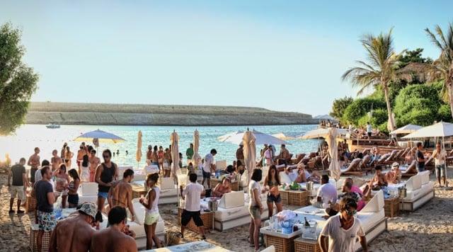 Club Blue Marlin na Cala Jondal em Ibiza