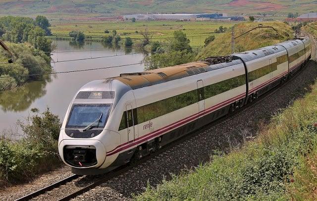 Trem de Madri a Bilbao