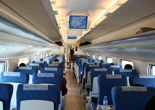 Interior trem