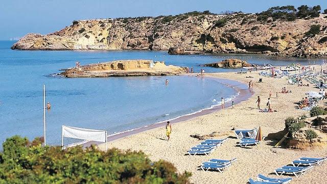 Cala Tarida em Ibiza