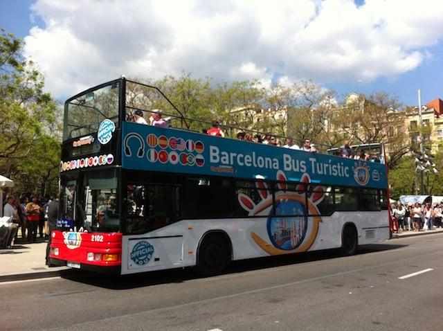 Ingressos para o Ônibus Turístico de Barcelona