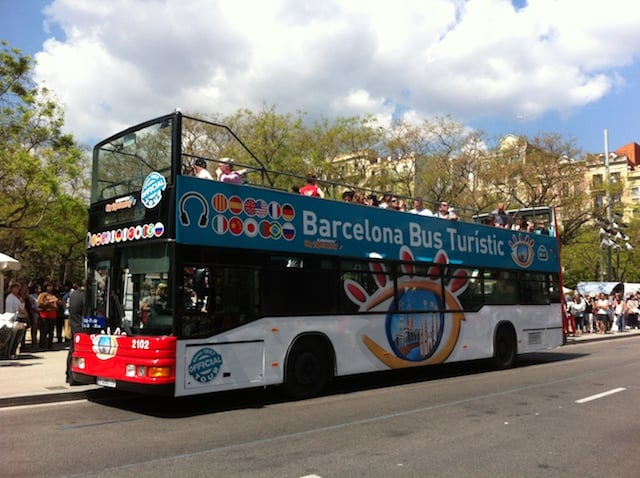 Passeio de ônibus turístico por Barcelona
