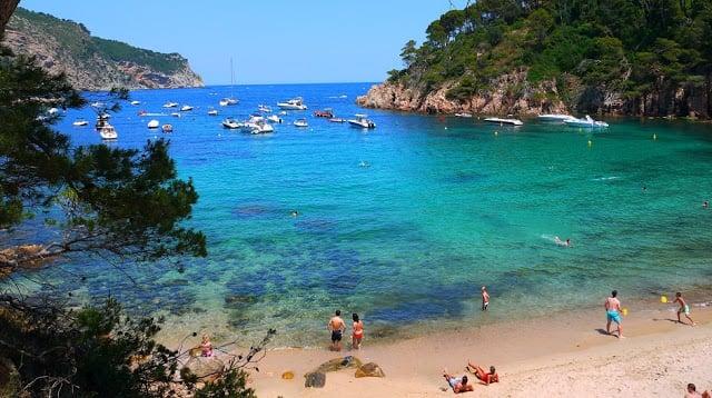 Praias paradisíacas em Costa Brava