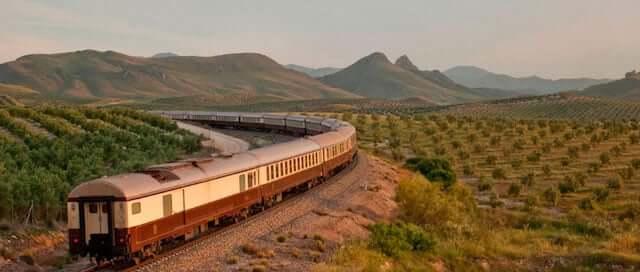 Viagens de trem pela Espanha