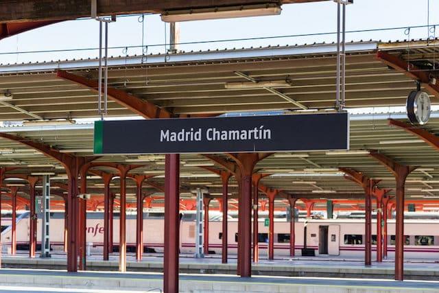 Estação de Madri - Chamartín