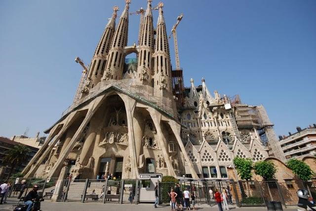 Igreja Sagrada Família em Barcelona