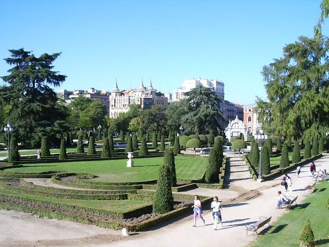 Parque del Retiro em Madri