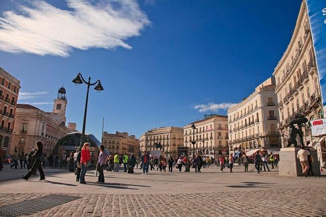 Região Puerta del Sol - centro Madri