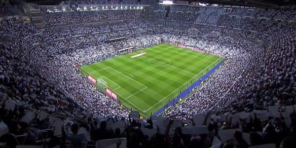 Assistir um jogo do Real Madri ou um grande show