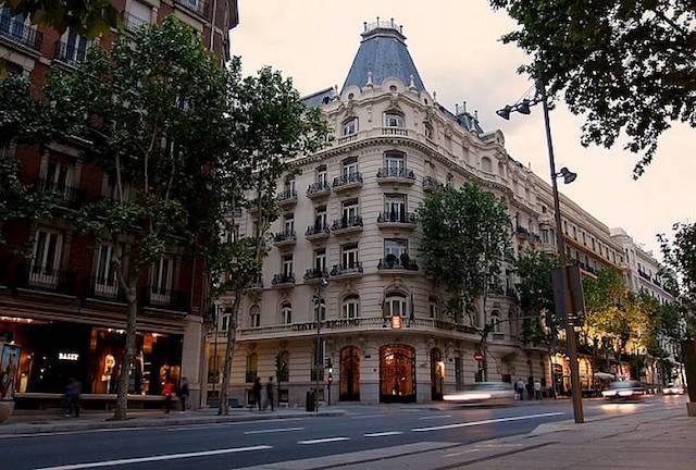 Calle Serrano - região de Salamanca