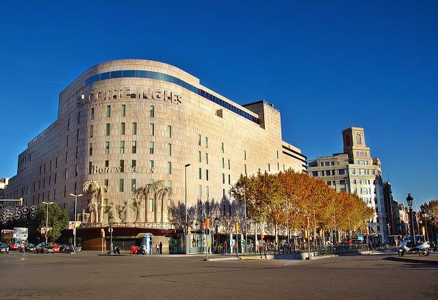 Lojas de departamento em Barcelona