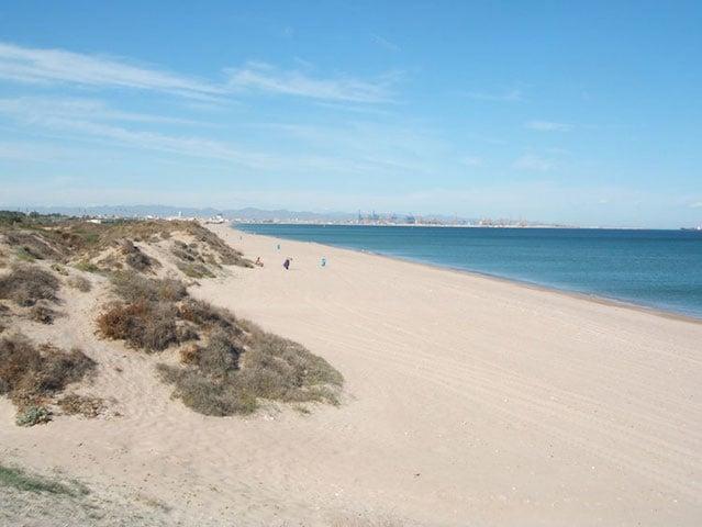 Praias em Valência - El Saler