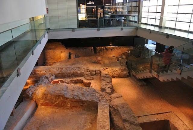 Sitio arqueológico L'Almoina em Valência