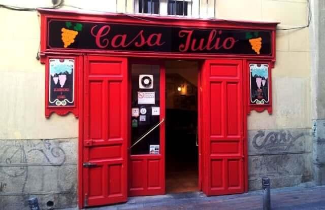 Restaurante casa julio em madri