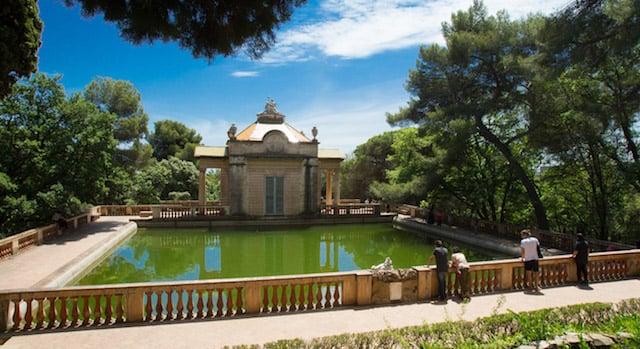 Parc del Laberint d'Horta em Barcelona