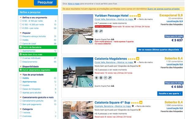 Como achar hotéis bem localizados e bem avaliados