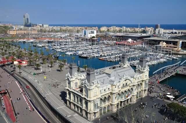 Mirante de Colon em Barcelona
