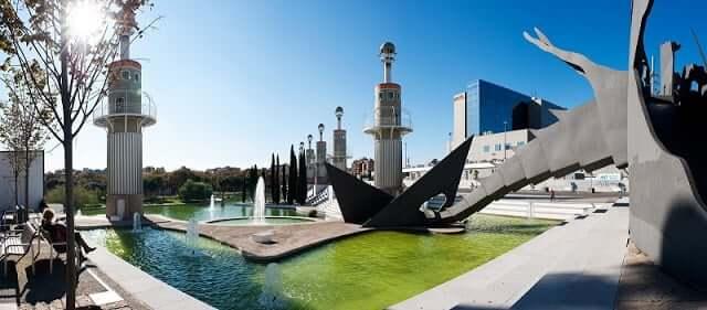Parc de l'Espanya Industrial em Barcelona