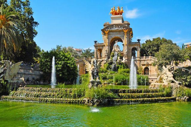 Passeio pelos parques de Barcelona - Ciutadella