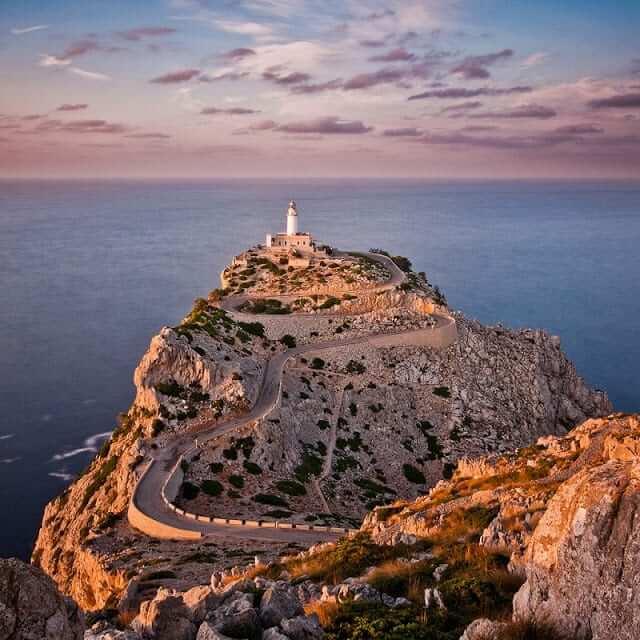 Farol do Cap de Formentor em Maiorca
