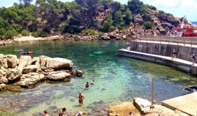 Ilha Dragonera em Maiorca