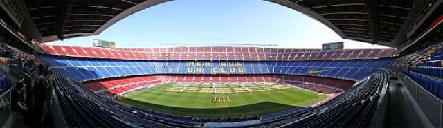 Ver um jogo de futebol em Barcelona