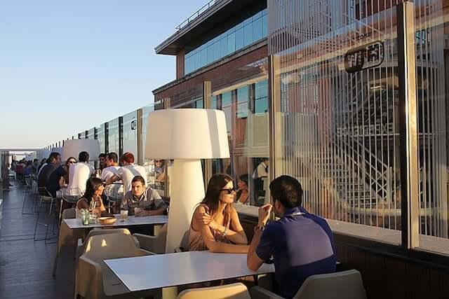 Cafeteria do El Corte Ingles de Callao - Madri