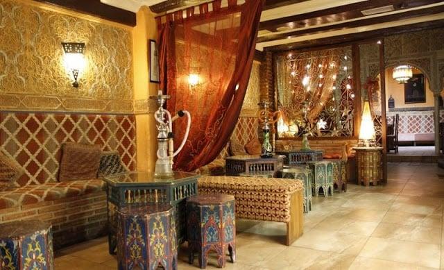 Casa de chá (tetería) em Granada