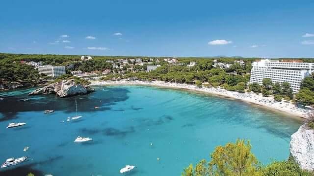 Cala Galdana em Menorca