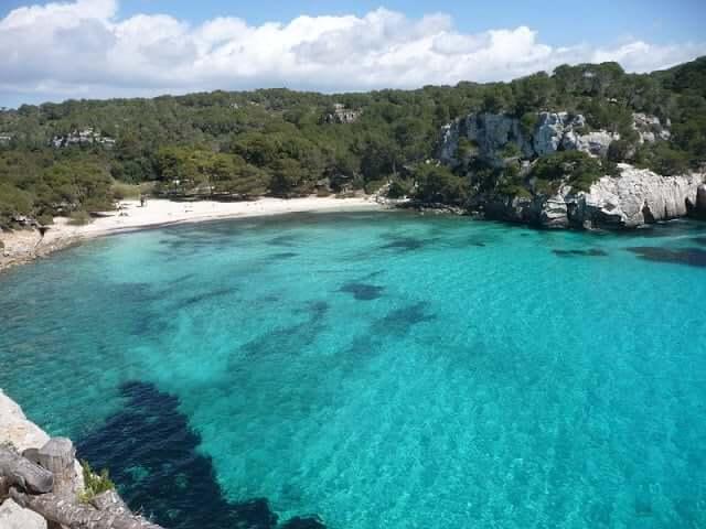 Cala Macarella em Menorca