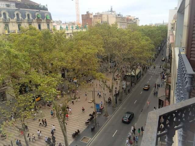 Pensão em Barcelona