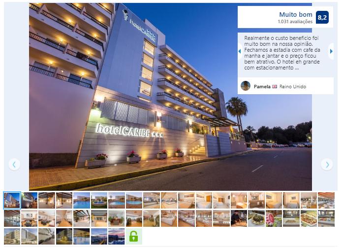 Hotel Caribe em Ibiza