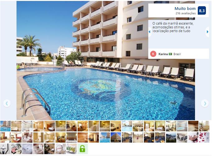 Invisa Hotel La Cala em Ibiza