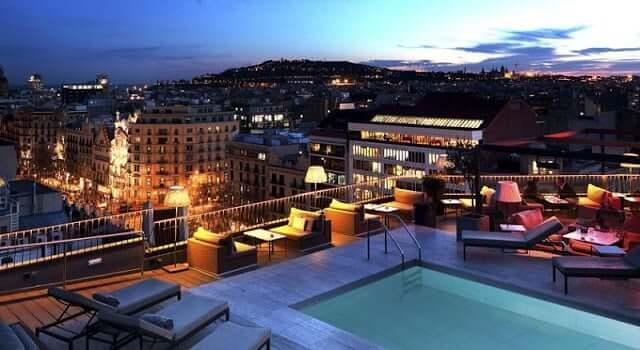 Hotel Majestic em Barcelona