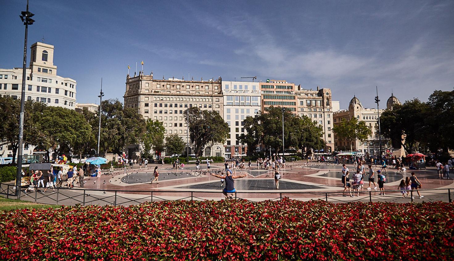 Plaça de Catalunya em Barcelona