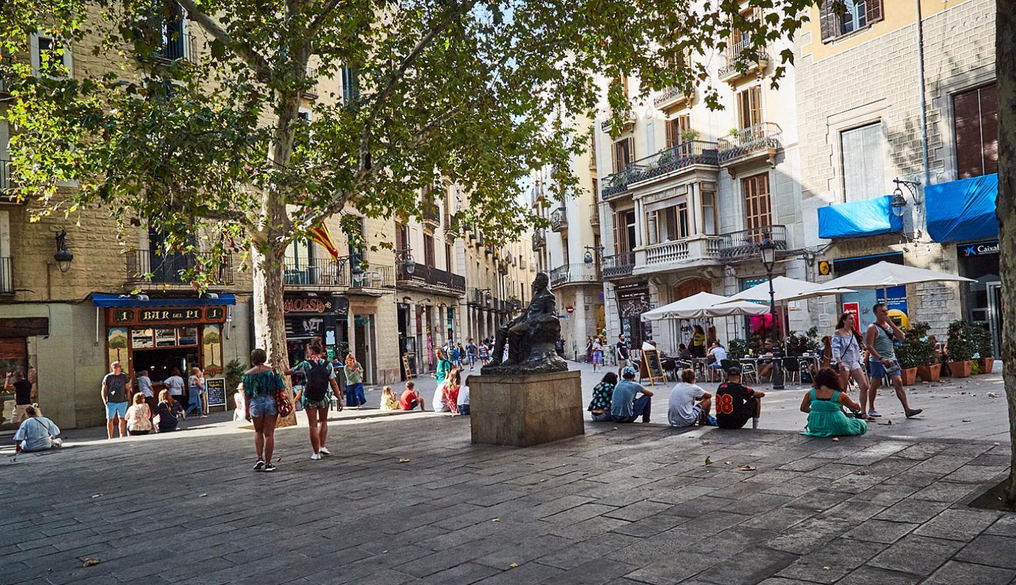 Plaça de Sant Josep Oriol