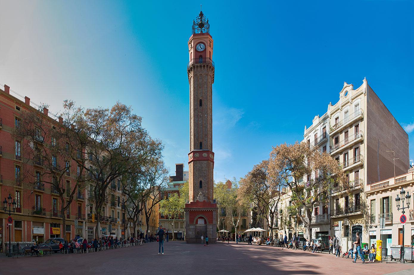 Plaça de la Vila de Gràcia em Barcelona