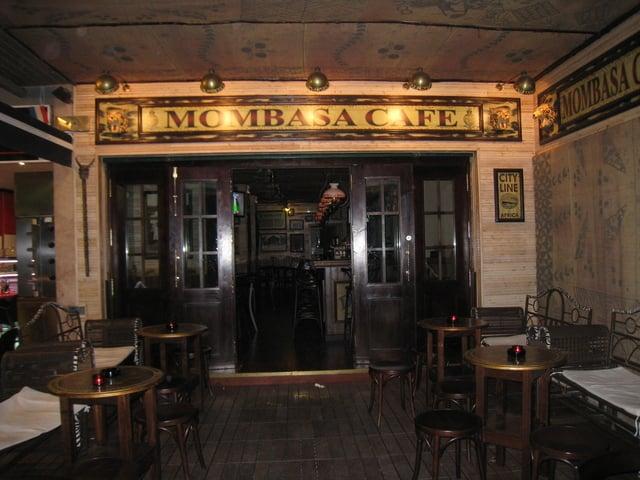 Bar Mombasa Cafe em Maiorca