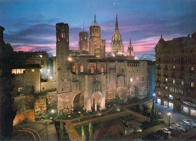 Barri Gótic em Barcelona