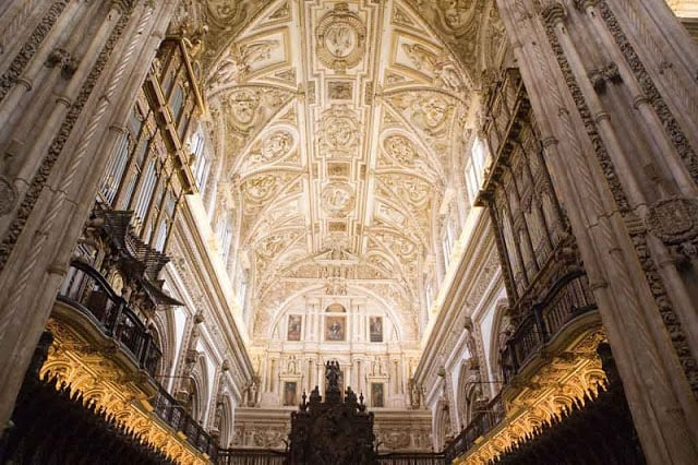 Interior Catedral de Córdoba