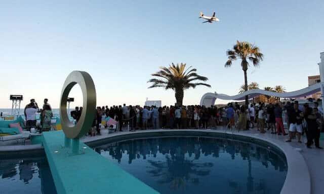 Beach Club em Ibiza