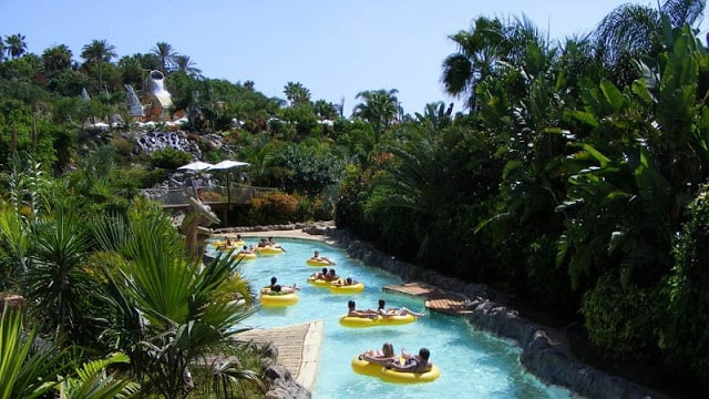 Siam Park - atração mais tranquila