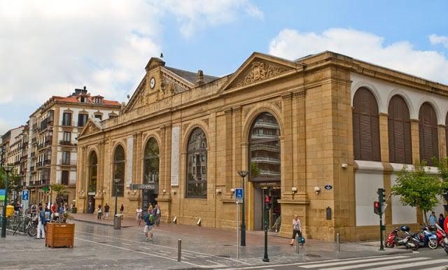 Mercado de la Brexta em San Sebastián