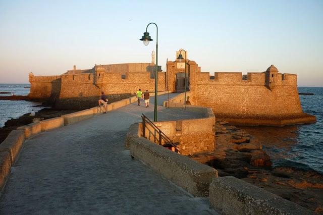 Forte de São Sebastião em Cádiz
