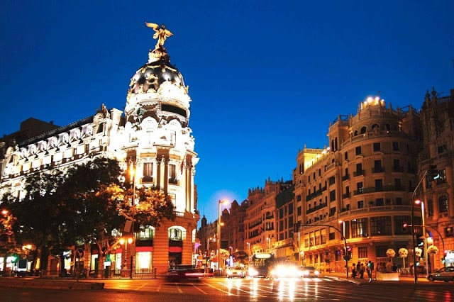 Como andar em Madri
