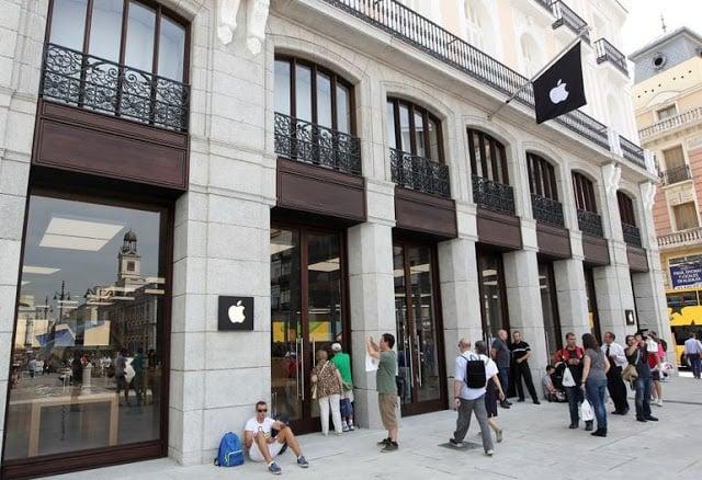 Apple em Madri