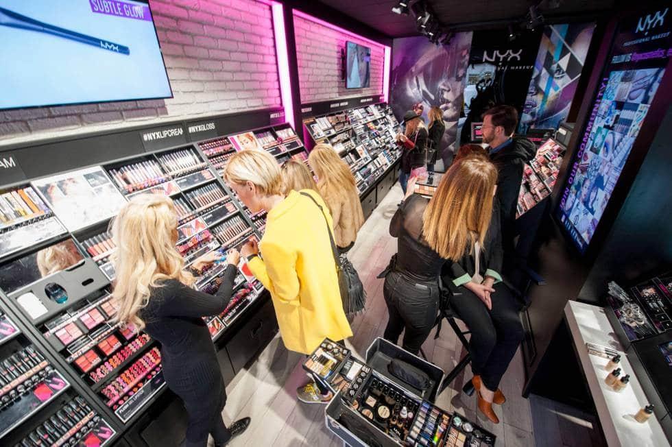 Comprar maquiagens em Madri - Gran Via