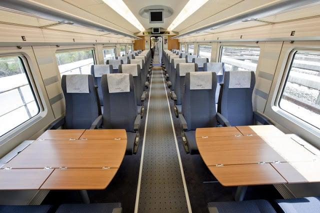 Trem de Barcelona a Madri